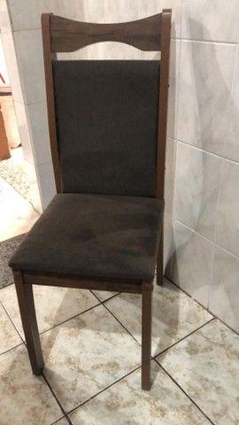 Vende-se mesa com 8 cadeiras - Foto 3