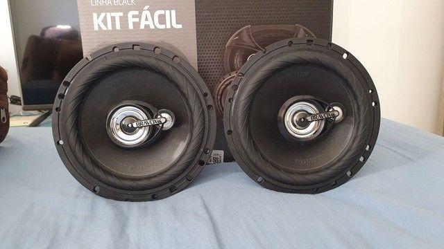 Alto falante 6 polegadas Bravox Black 160w RMS, novo! Forte - Foto 2