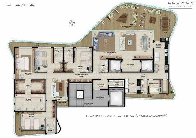 Apartamento à venda no Legacy Condominium com 4 suítes, com 311,00m² por R$ 3.795.000,00 n - Foto 4
