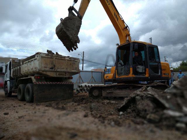 Demolição Retroescavadeira, Mini Escavadeira
