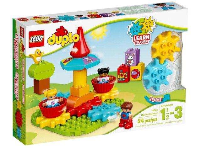 Lego Duplo 10845 - O Meu Primeiro Carrossel - Foto 3