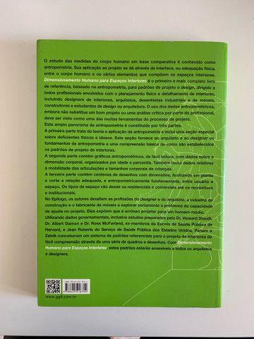 Livro Dimensionamento Humano para Espaços Interiores - Foto 3
