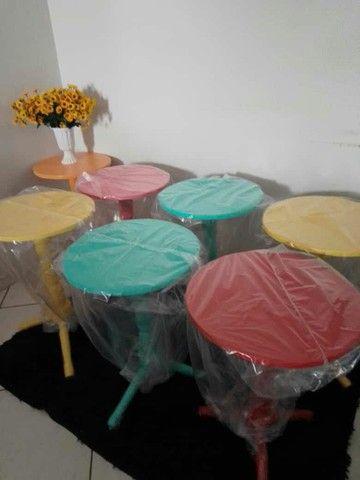 Mesas e cabideiro  - Foto 3