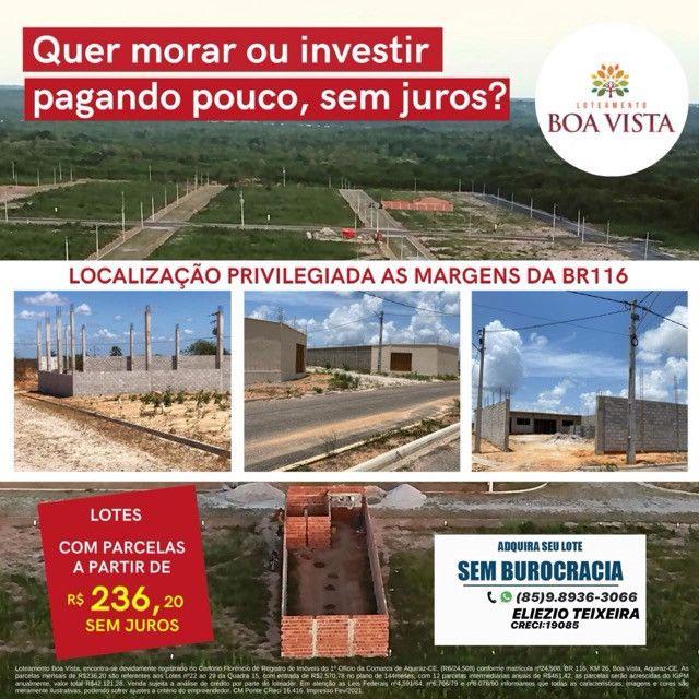 Loteamento Boa Vista, com infraestrutura completo!! - Foto 7