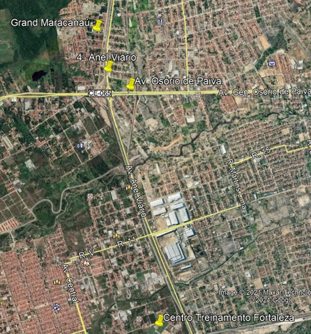 Apartamento com 1 quarto para alugar, 37 m² por R$ 320/mês - Maracanaú/CE - Foto 15