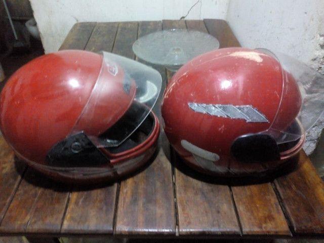 Dois capacetes  - Foto 2