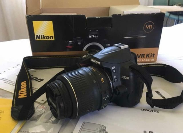 Câmera D3000 Nikon - Foto 2