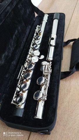 Flauta transversal moresky (nova) em ate 12 x no cartão <br> - Foto 3