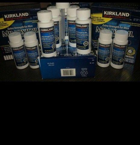 Minoxidil kirkland 5% Crecimento de barba e cabelo