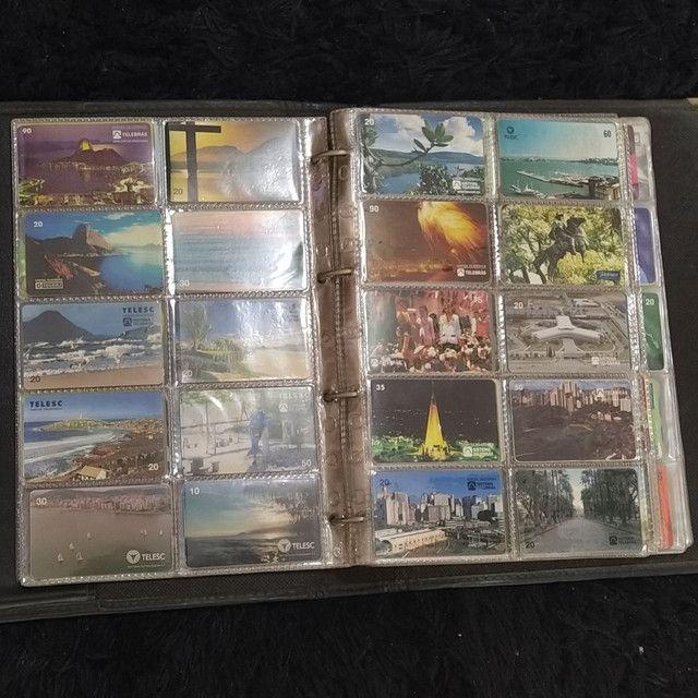 Coleção de cartão telefônico - Foto 3