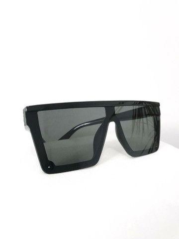 Óculos de Sol Máscara Quadrado Proteção Uv400