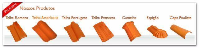 Telhas portuguesa /romana
