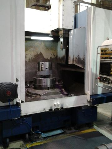Torno vertical CNC marca Dörries, mod. VCE-80