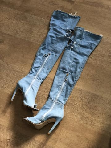 Bota Over The Knee Jeans - TAM. 36