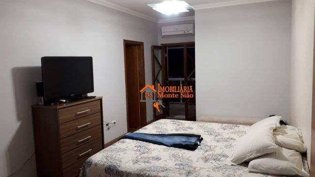 Sobrado com 3 dormitórios à venda, 147 m² por R$ 650.000,00 - Jardim Imperador - Guarulhos