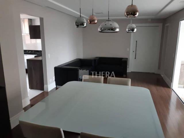 Apartamento com 3 dormitórios para alugar, 135 m² por r$ 5.000/mês - vila léa - santo andr - Foto 5
