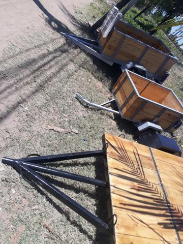 Vende e troca reboques e carrocinha - Foto 2