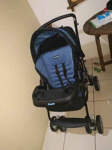 Carrinho de bebê Burigotto novinho - Foto 2