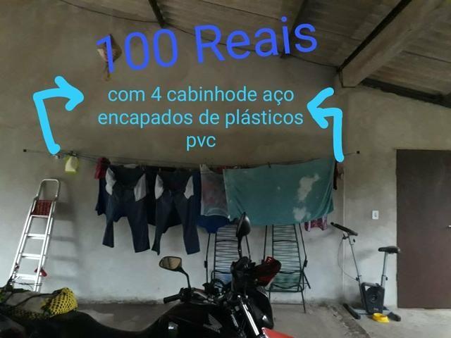 Varal para roupas retratil INSTALADO - Foto 5