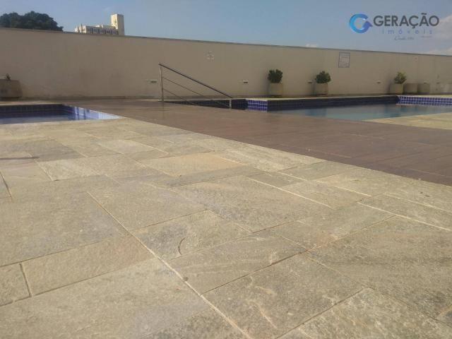 Apartamento com 3 dormitórios para alugar, 70 m² por R$ 1.600/mês - Centro - São José dos  - Foto 14
