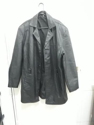 266dff4a9 Jaqueta de couro legítima plus size - Roupas e calçados - Roçado ...