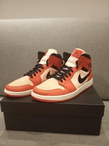Se Air Mid Orange Jordan 1 Team nwO0Pk