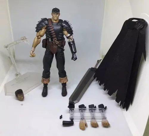 Berserk - Guts Black Swordsman Ver. Repaint Ed - Figma 359 - Foto 2