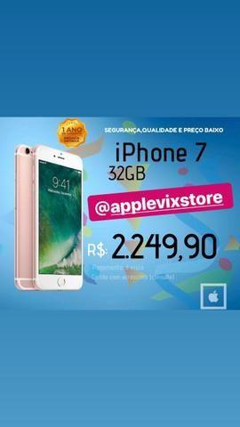 IPhone novo e lacrado 7 32 melhor preço