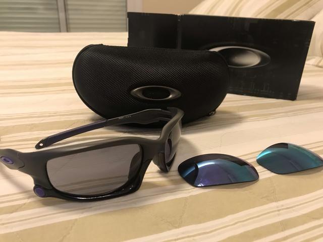 3668a53c7cc6e Óculos Oakley Split Jacket novíssimo !