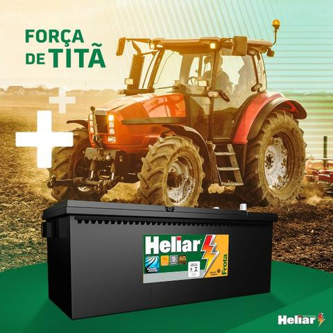 Bateria Heliar 180 amperes - Foto 3