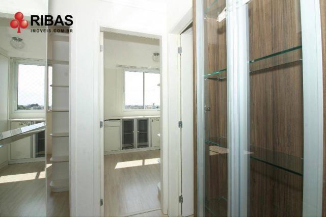Apartamento com 3 dormitórios para alugar, 78 m² por r$ 2.000,00/mês - capão raso - curiti - Foto 11