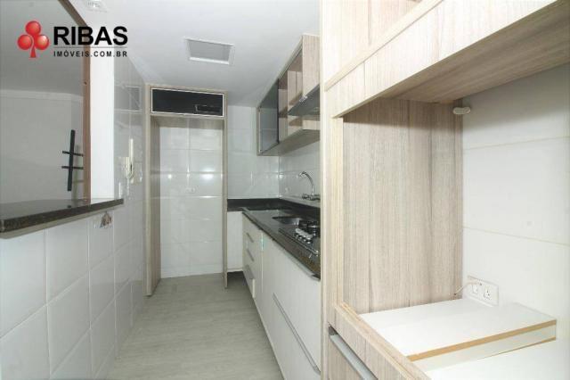 Apartamento com 3 dormitórios para alugar, 78 m² por r$ 2.000,00/mês - capão raso - curiti - Foto 7