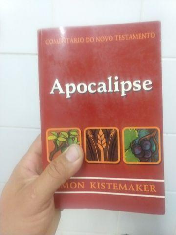 Livro comentário do novo testamento apocalipse