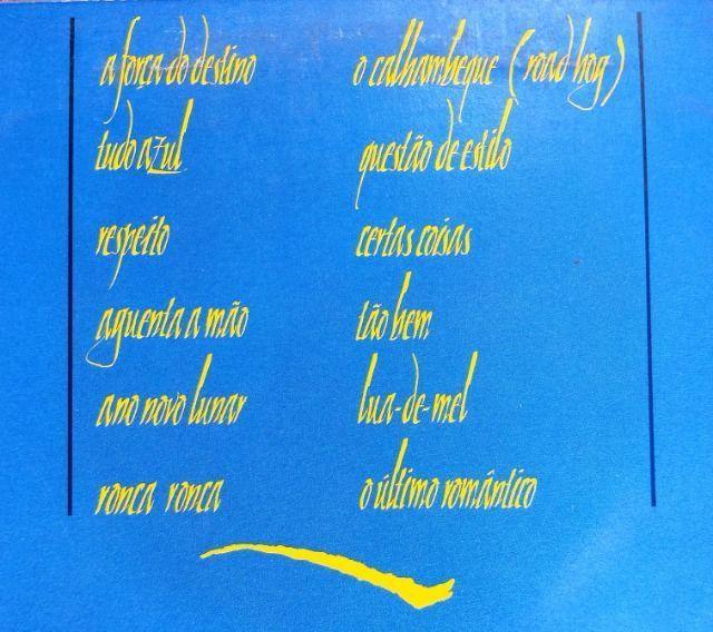 LP Vinil Lulu Santos - Tudo Azul - com encarte - Foto 4