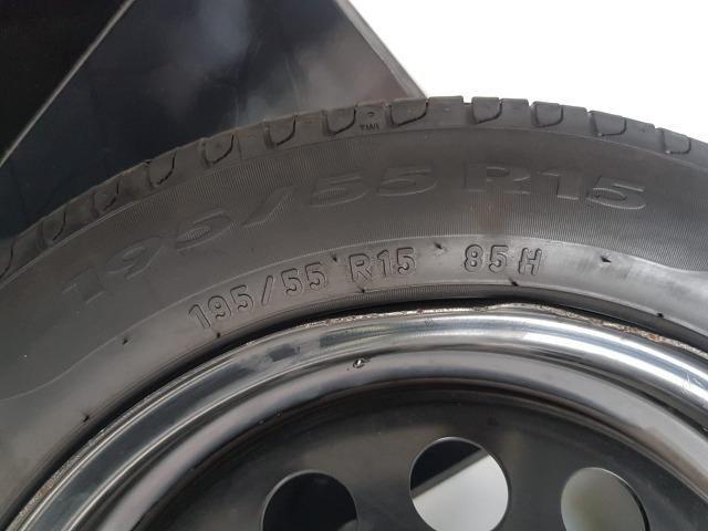 """Jogo de pneus Pirelli aro 15"""" - Foto 3"""