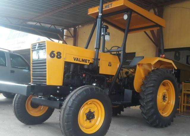 Trator valmet 68 motor mwm d-229 3cc