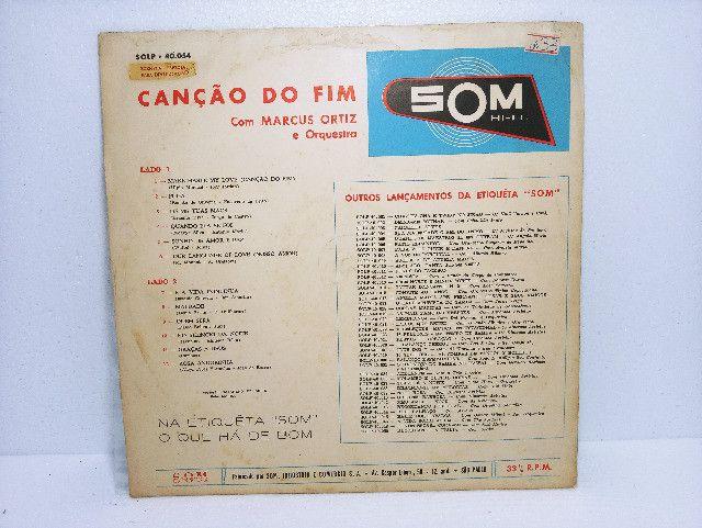 Lp Vinil Marcus Ortiz Com Orquestra Canção Do Fim - Foto 4