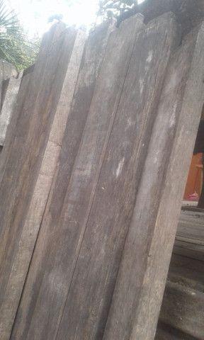 Colunas de madeira de lei, de demolição - Foto 5