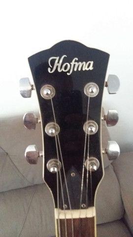 Guitarra Hofma Semi-Acustica - Foto 5