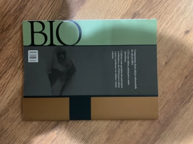 Livro biologia Sônia Lopes volume 3
