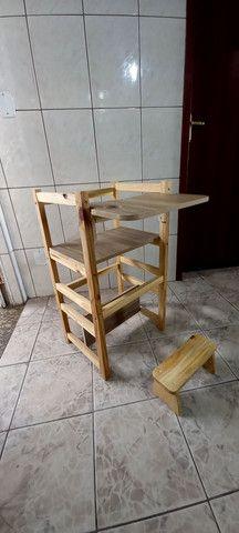 Cadeira torre montessoriana  - Foto 5
