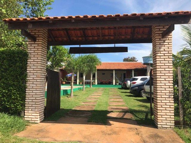 VENDO/ALUGO CASA CHAPADA porteira fechada - Foto 6