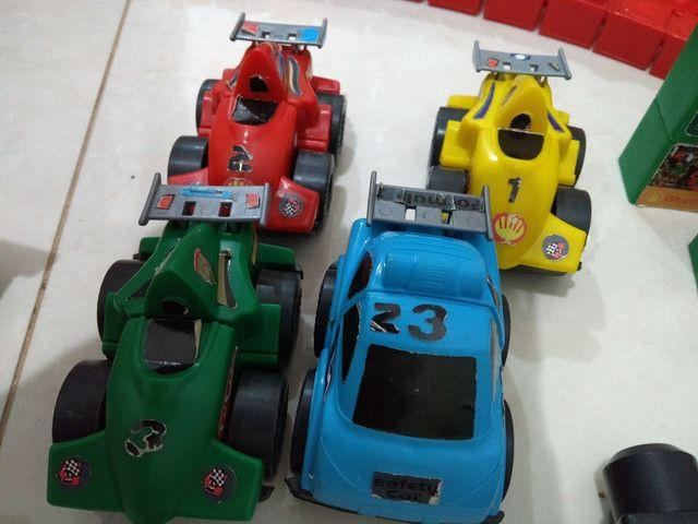 Brinquedo Pista Corrida Carrinhos Desmontável - Foto 2
