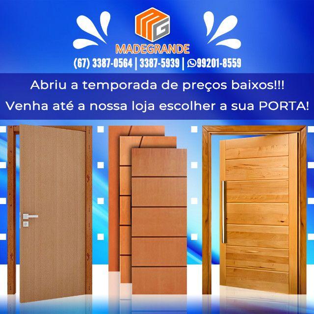 Muitas opções de Porta Nova para sua Casa!!! - Foto 2