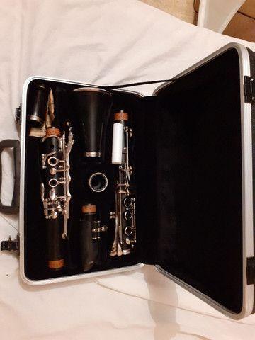 Clarineta Eagle 17 Chaves , Novíssima, usada poucas horas. Vale a pena conferir - Foto 3