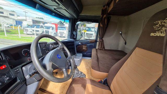 Scania 124 G 400 ano 2013 Trucado 6x2 com ar cond Unico Dono Lindo - Foto 14