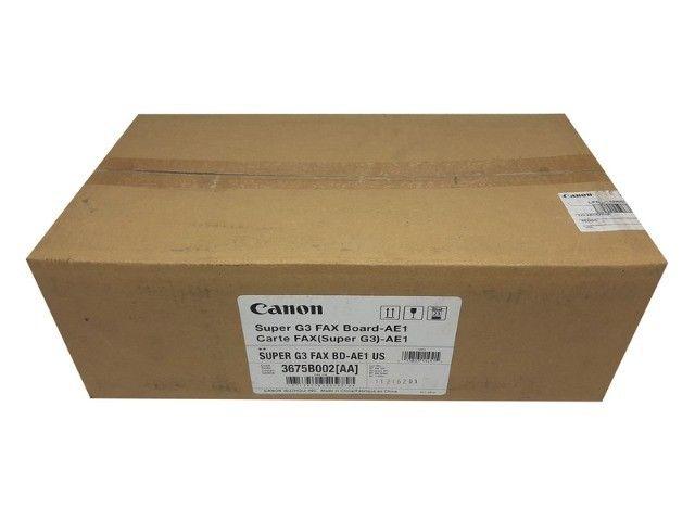 Placa Canon Super G3 FAX Board AE1 3675B002AA Original Novo