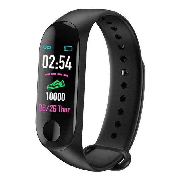Relógio inteligente batimentos cardíaco pressão arterial - Foto 5
