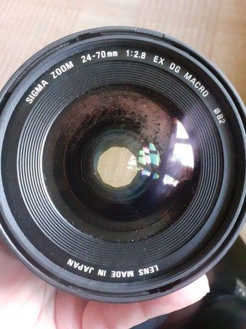 Lente sigma 24-70mm para canon