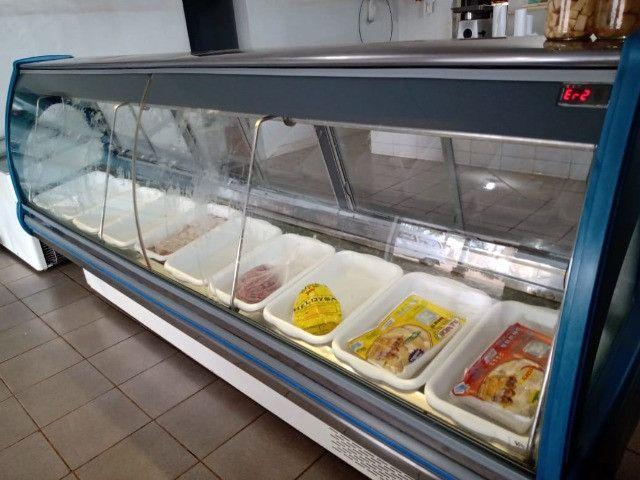 Balcão  expositor refrigerador